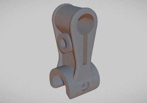 Деталь, изготовленная методом 3d печати